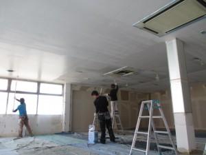 内部天井塗装