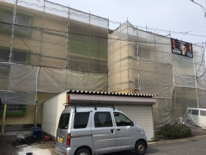西尾市アパート、マンション塗り替え