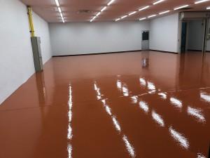 西尾市工場床塗装