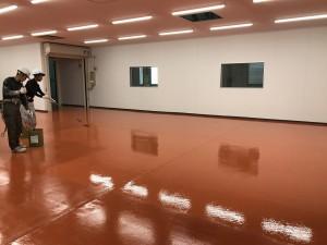 西尾市ユータックE-40塗装