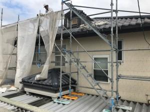 西三河岡崎市屋根ガイナ塗装