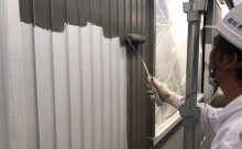 西三河トタン塗装漆喰工事