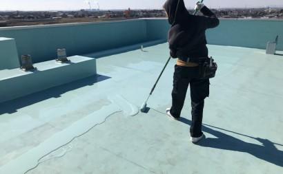 西三河ビル屋上防水