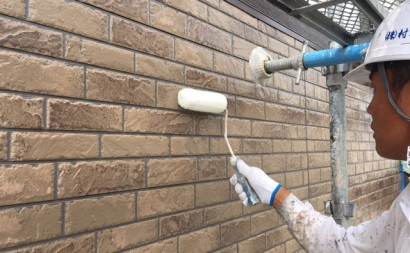 西尾市外壁塗装遮熱フッ素色あせ欠け