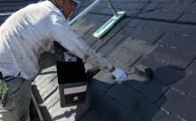 西尾市屋根塗装遮熱フッ素色あせ欠け汚れ