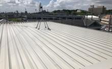 西三河愛知県岡崎市西尾市アパート外壁屋根シリコン塗装色褪せクラック屋根