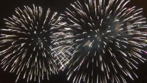 三河西尾市、蒲郡の花火