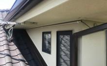 愛知県西三河西尾市外壁超低汚染遮熱シリコン塗装色褪せクラック汚れ藻欠け苔軒天軒裏