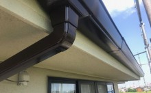 愛知県西三河西尾市外壁超低汚染遮熱シリコン塗装色褪せクラック汚れ藻欠け苔軒樋