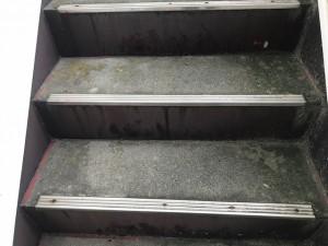 西尾市階段コンクリート防水