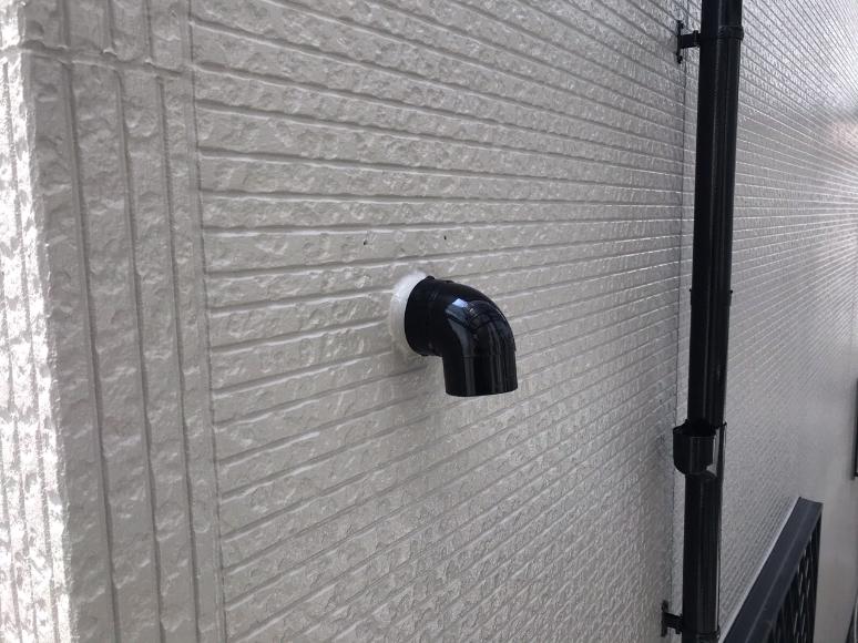 外壁、雨樋の塗装完了