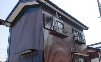西尾市外壁トタンシリコン塗装