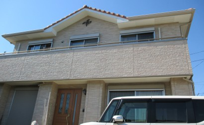 西尾市外壁クリヤー塗装