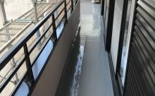 西尾市、安城市ベランダ床保護防水塗装