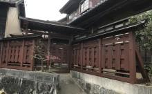 三河西尾市擁壁防腐材塗装