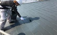 愛知県西尾市屋根縁切りタスペーサー