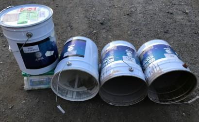 西三河西尾市遮熱外壁2色仕上げ