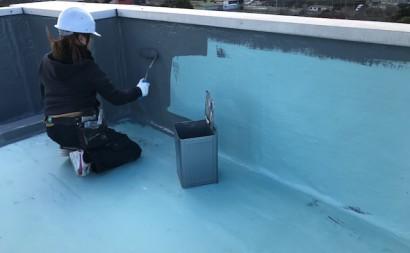 西尾市屋上雨漏り防水