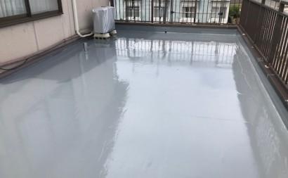 西三河西尾市ベランダウレタン防水塗装通気緩衝工法雨漏り