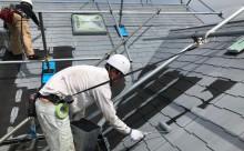 西尾市屋根塗装遮熱フッ素色あせ欠け
