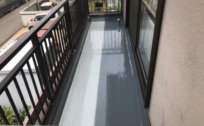 西三河西尾市ベランダ防水通気緩衝工法