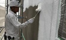 西三河西尾市岡崎市碧南市安城市外壁屋根シリコン塗装色褪せ欠け汚れクラックひび割れ下塗り