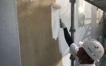 愛知県西三河西尾市外壁超低汚染無機フッ素塗装色褪せクラック汚れ藻欠け下塗り
