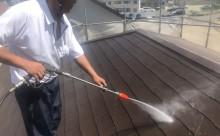愛知県西尾市碧南市岡崎市安城市外壁超低汚染無機フッ素塗装屋根ガイナ塗装色褪せクラック汚れシール割れ屋根高圧洗浄