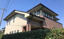 愛知県西三河西尾市外壁超低汚染遮熱シリコン塗装色褪せクラック汚れ藻欠け苔