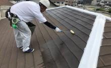 愛知県西尾市碧南市岡崎市安城市外壁超低汚染無機フッ素塗装屋根ガイナ塗装色褪せクラック汚れシール割れ屋根プライマー