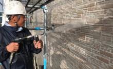 愛知県西三河東三河西尾市外壁塗装超低汚染遮熱シリコン塗装外壁修繕汚れひび割れ欠けクラック色褪せ洗浄