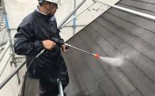 愛知県西三河西尾市安城市屋根塗装太陽光高反射遮熱塗装色褪せ欠けクラック汚れ洗浄