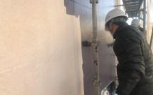 愛知県岡崎市西尾市外壁塗装超低汚染遮熱シリコン塗装屋根塗装超低汚染遮熱フッ素塗装色褪せシール割れクラック欠け苔汚れ中塗り