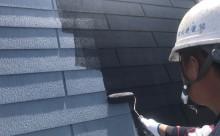 愛知県岡崎市西尾市外壁塗装超低汚染遮熱シリコン塗装屋根塗装超低汚染遮熱フッ素塗装色褪せシール割れクラック欠け苔汚れ屋根中塗り