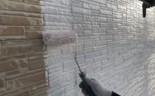 愛知県西三河東三河西尾市外壁塗装超低汚染遮熱シリコン塗装外壁修繕汚れひび割れ欠けクラック色褪せ下塗り
