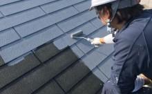愛知県岡崎市西尾市外壁塗装超低汚染遮熱シリコン塗装屋根塗装超低汚染遮熱フッ素塗装色褪せシール割れクラック欠け苔汚れ屋根プライマー2回目