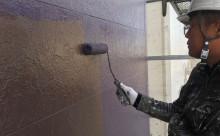 愛知県岡崎市西尾市外壁塗装超低汚染遮熱シリコン塗装屋根塗装超低汚染遮熱フッ素塗装色褪せシール割れクラック欠け苔汚れ上塗り
