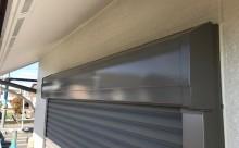 愛知県西三河碧南市西尾市岡崎市外壁塗装超低汚染遮熱シリコン塗装意匠柄塗装色褪せ汚れ欠けひび割れクラック欠けアクセントシャッターボックス