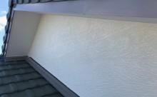 愛知県西三河碧南市西尾市岡崎市外壁塗装超低汚染遮熱シリコン塗装意匠柄塗装色褪せ汚れ欠けひび割れクラック欠けアクセント意匠柄破風