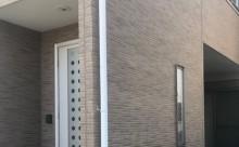 愛知県西三河碧南市西尾市岡崎市外壁塗装超低汚染遮熱シリコン塗装意匠柄塗装色褪せ汚れ欠けひび割れクラック欠けアクセント意匠柄外壁現状