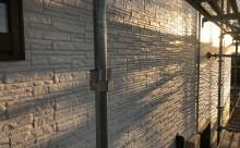 愛知県西三河東三河西尾市外壁塗装超低汚染遮熱シリコン塗装外壁修繕汚れひび割れ欠けクラック色褪せ上塗り完成