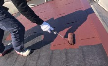愛知県岡崎市西尾市外壁塗装超低汚染遮熱シリコン塗装屋根塗装超低汚染遮熱フッ素塗装色褪せシール割れクラック欠け苔汚れ屋根上塗り