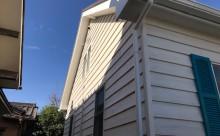 愛知県西三河西尾市安城市外壁塗装屋根塗装太陽光高反射遮熱塗装色褪せ欠けクラック汚れ板壁木外壁外観完成施工後