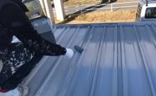 愛知県西三河東三河西尾市倉庫塗装外壁高反射遮熱シリコンサーモアイSi屋根ガイナ遮断熱セラミック色褪せ汚れ錆サビ雨垂れ剥がれ屋根錆止め