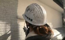 愛知県西三河東三河西尾市碧南市外壁塗装超低汚染遮熱シリコン色褪せ汚れ傷み割れクラック外壁補修外壁塗装工事アステックリファイン1000Si-IRクールホワイト中塗り