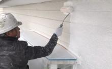 西三河東三河西尾市外壁塗装破風板金巻き耐候性シリコン塗装痛み色褪せ汚れ欠け割れ外壁塗装下塗り