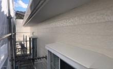 西三河東三河西尾市外壁塗装破風板金巻き耐候性シリコン塗装痛み色褪せ汚れ欠け割れ外壁塗装完成