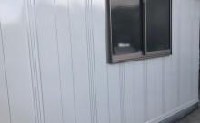 愛知県西三河東三河西尾市倉庫塗装外壁高反射遮熱シリコンサーモアイSi屋根ガイナ遮断熱セラミック色褪せ汚れ錆サビ雨垂れ剥がれ外壁完成