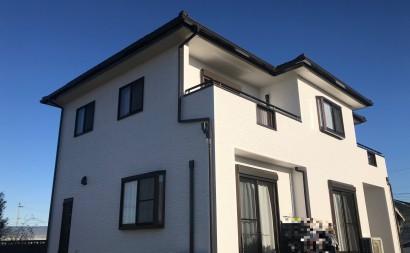 愛知県西三河東三河西尾市外壁塗装超低汚染遮熱シリコンアステックリファイン塗装外壁修繕汚れひび割れ欠けクラック色褪せ施工後完成
