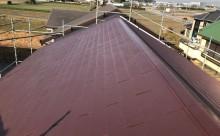 愛知県岡崎市西尾市外壁塗装超低汚染遮熱シリコン塗装屋根塗装超低汚染遮熱フッ素塗装色褪せシール割れクラック欠け苔汚れ屋根完成